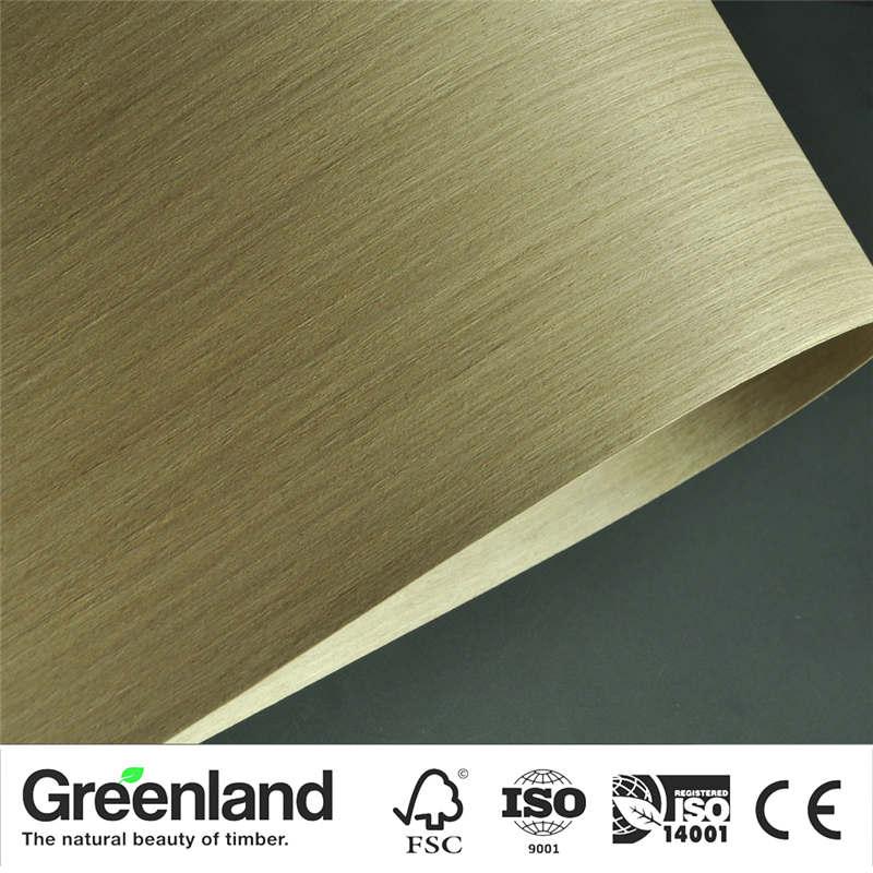 Silver OAK Wood Veneers Flooring DIY Furniture Natural Material Bedroom Chair Table Skin Size 250x60 Cm Bed Table Veneer