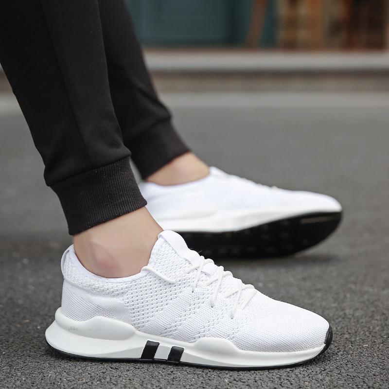 Los zapatos de los hombres de verano de 2019 zapatos Ultra aumenta Zapatillas Deportivas Hombre transpirable zapatos casuales zapatos Sapato Masculino Krasovki