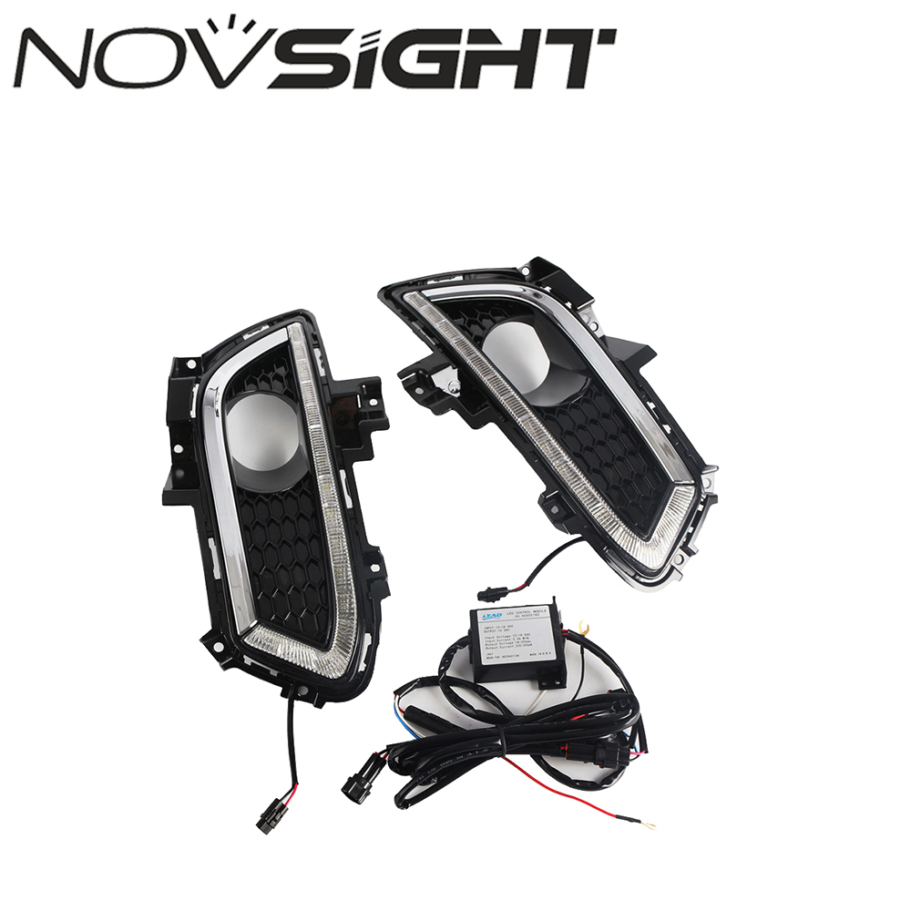 2XDRL LED Driving Daytime Running Light Fog Lamp Fit For Ford Mondeo 2013-2016 Day Light Led Car Free Shipping drl for chevrolet captiva 2013 2016 daytime running lights double color led day driving light with lamp door free shipping