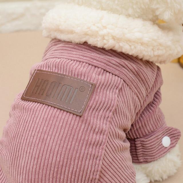 Velvet Warm Dog Coat 4