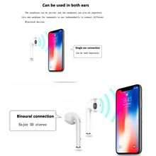 Mini Bluetooth Earphones Super Clear Stereo Bass Wireless Headset Earbuds with Mic Charging Box for All Smart phone