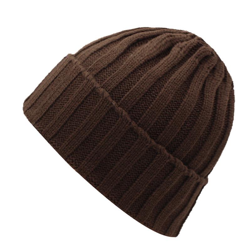 قبعة صوف رجالي دافئة 10