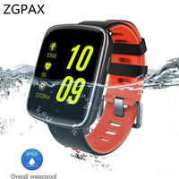 ZGPAX HM2 Smart Watch Sports Watch IP68 Waterproof Heart Rate Monitor Message Call Reminder Bluetooth 4