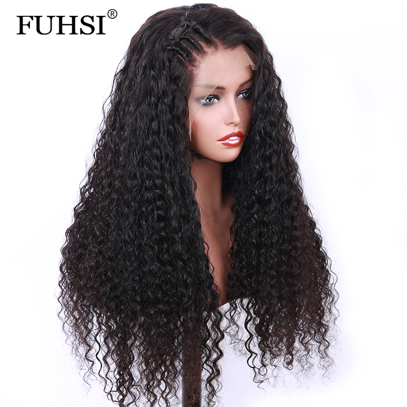 Hair Extensions & Wigs Lace Wigs 360 Lace Frontal Wigs For Women Black Brazilian Remy Hair Pre Plucked Lace Front Human Hair Wigs With Baby Hair Fuhsi Hair