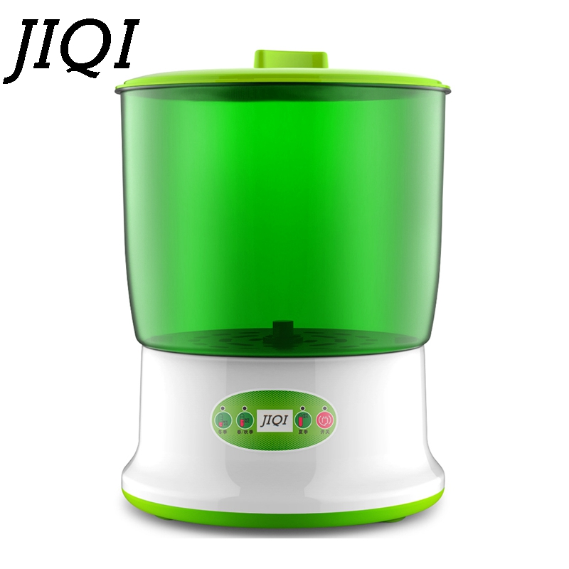 Image 2 - JIQI Home Use Intelligence Bean Sprouts Machine Large Capacity Thermostat Green Seeds Growing Automatic Bean Sprout Machine EUbean sprout machineautomatic sproutingeu -