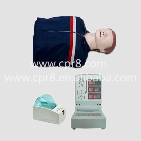 BIX/CPR260 Advanced Computer Half-length Cardiopulmonary Resuscitation (CPR) Manikin  MQ125 manikins medical training simulators automated abdominal cardiopulmonary palpation and auscultation manikin gasen pem0001