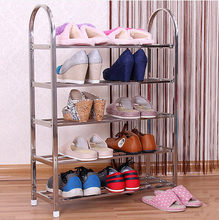 Fashion High Quality Stainless Steel Shoes Rack New Fashionable Self For Shoes On Sale(China)