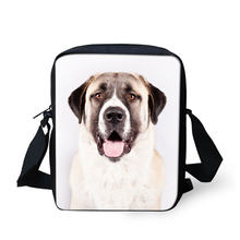 Anatolian Shepherd Action Figure Crossbody Bag School Boys Girls One Shoulder Straps for Carrying Comfort Custom Messenger Bags(China)