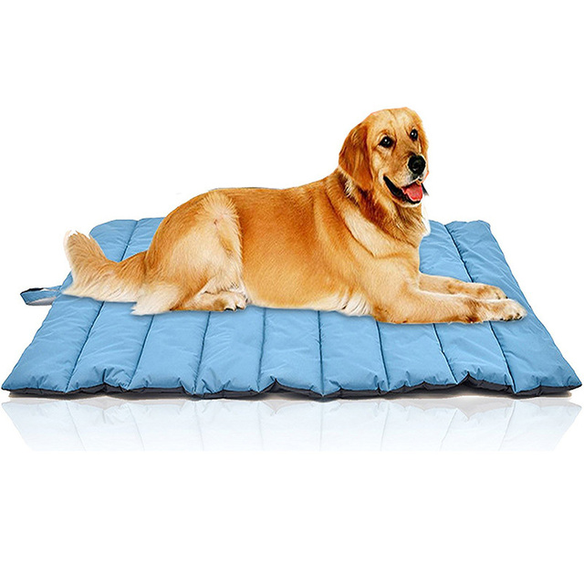Fast Shipping Dog Bed Mat Waterproof Portable Foldable Beds For Large Dogs Outdoor Pet Sleeping Pad Hondenmand Products