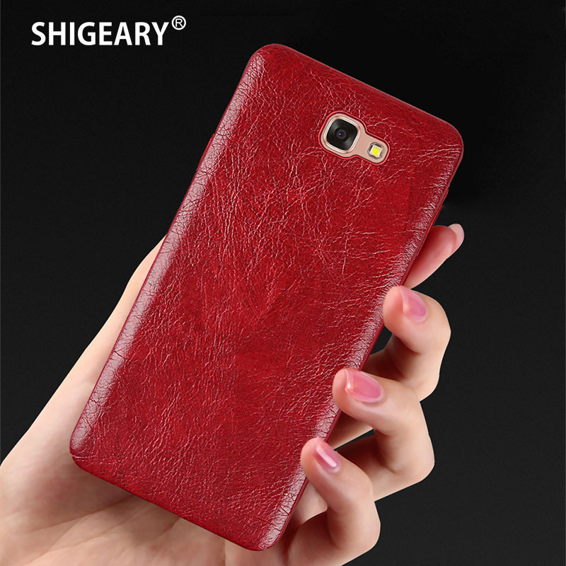 Shigeary Cover for Samsung Galaxy J5 Prime Case for Samsung On5 2016 Cover High Quality Leather + PC Cases ON 5 2016 Hull Fundas