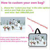 Customized Custom Notebook Laptop Tablet Bag For 7 9 9 7 11 6 13 3 14
