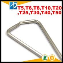 Nickel Plated L Type Torx hex key,Allen Wrench,T6,T8,T10,T15,T20,T25,T30,T40,T50 недорого