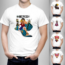 2016 Summer Fashion  One Piece Design T Shirt Men's High Quality Custom Printed Tops Hipster Tees