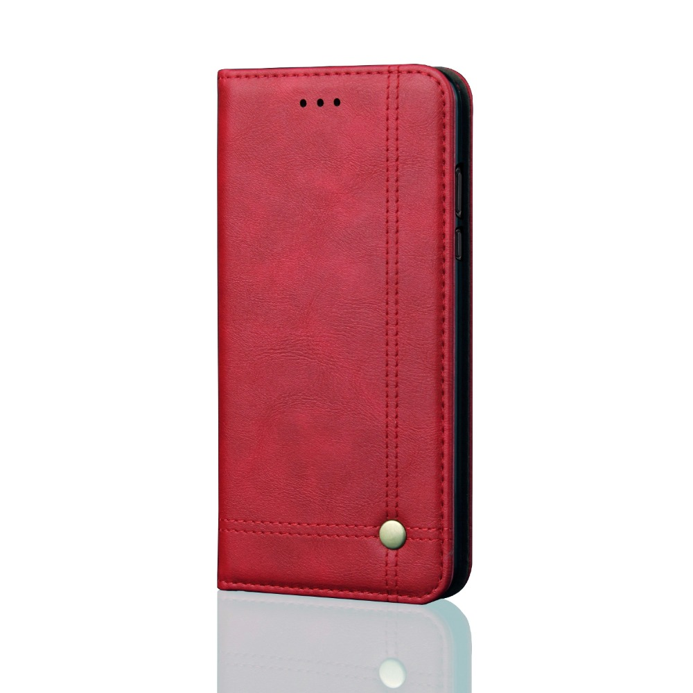 New Design Flip Leather Phone Case Cover For Xiaomi Redmi 6A Case Red mi 6 Card Holder For Xiaomi Redmi 6A Case Redmi6 in Wallet Cases from Cellphones Telecommunications
