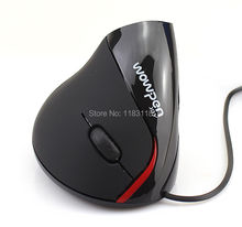 Wired Vertical Mouse Superior Ergonomic Design Optical Mouse Usb Health Mice For Alleviate Wrist Fatigue Computer