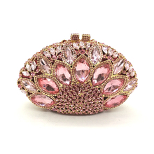 Wome diamonds crystal clutch (12 colors)