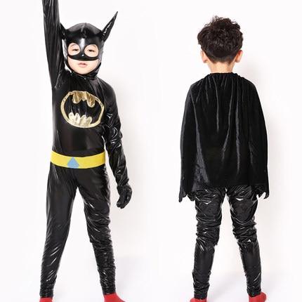 32c1b519136ea هالوين الأطفال باتمان زي فساتين عائلة لعبة ازياء تأثيري حزب حزب الملابس