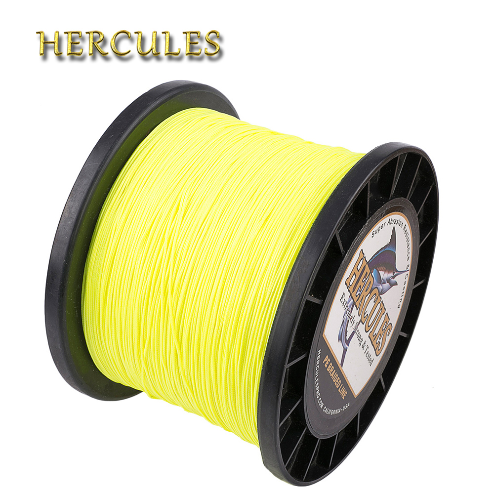 Hercules 2000m Line For Fishing 8 Strands PE Carp Fishing Braided Wire Pesca 10-200LB 15 Colors Multifilament Super Strong Cord парогенератор с утюгом silter super mini 2000m 1литр с манометром