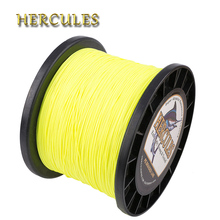 Hercules 2000m Line For Fishing 8 Strands PE Carp Fishing Braided Wire Pesca 10-200LB 15 Colors Multifilament Super Strong Cord