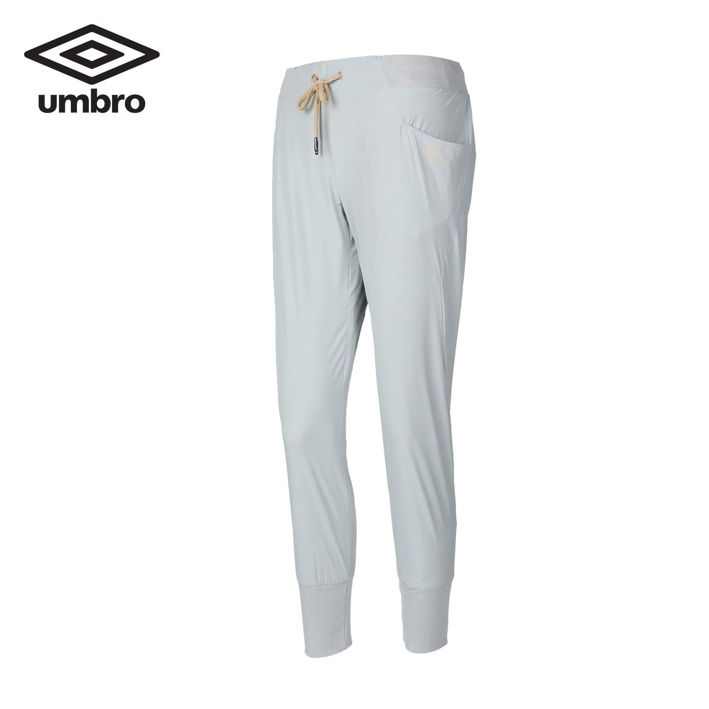 Umbro New Women Stretch Elastic Waist Pants Long Pants Skinny Ladies Sports Pants Conventional Trousers UCD63704 elastic waist faux fly stretch pants