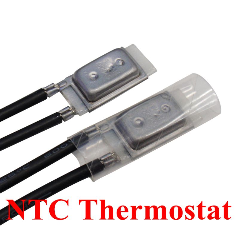 17AM 60 180 Degree Motor Thermal Protection Device 17AM037A5 150C Normally Closed Thermostat Temperature Control Switch in Switches from Lights Lighting