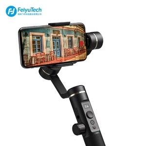 Image 2 - FeiyuTech Feiyu SPG2 3 Axis El Gimbal Sabitleyici Sıçrama geçirmez Tasarım Smartphone iphone Xs X 8 7 galaxy S9 + Gopro 7 6