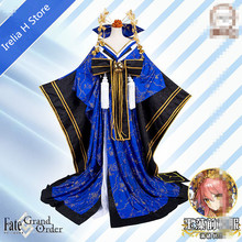 Tamamo Fate/Grand Order Cosplay stage 3 tamamo no mae kimono cosplay costume