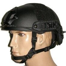 Nuevo casco rápido Airsoft MH estándar Paintball casco exterior del casco táctico