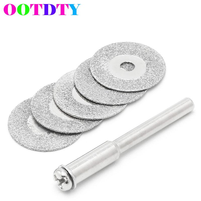 цена на 5pcs/lot Dremel Accessories Diamond Grinding Wheel Saw Circular Cutting Disc Dremel Rotary Tool Diamond Discs APR24_30