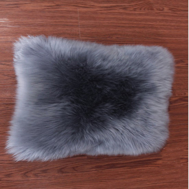 Super Faux Sheepskin Cushion Cover Home Decor Faux Fur Pillow Covers Mesmerizing Faux Sheepskin Pillow Cover