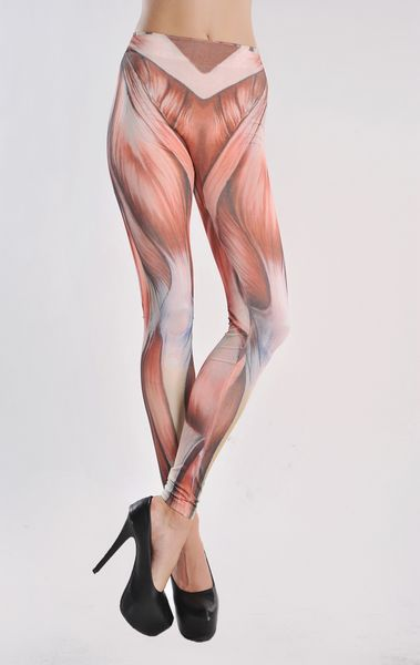 bbla wholesale sexy muscle printed seamless blasting models tattoo, Muscles