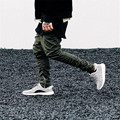 2016 spring fashion casual pants  man  boudoir breathing long to ankle zipper leisure bunch of foot trousers crime