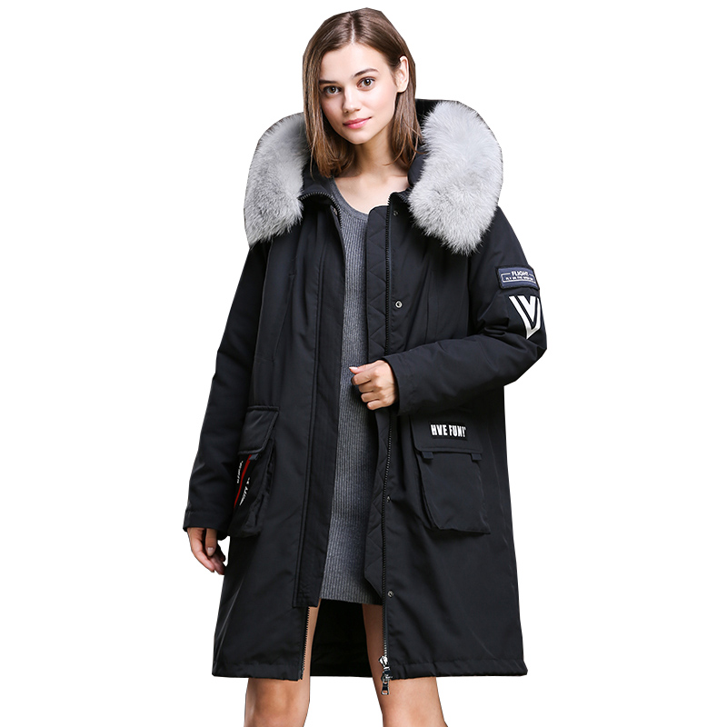 Vintage Abrigos Con Mujer Invierno Para Real Chaquetas Abrigo Femme qvPCw