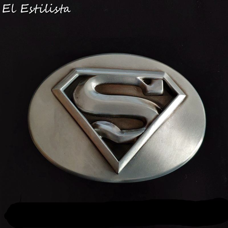 Mens Brand Superman Belt Buckles Rectangle Metal High Quality Superhero Film Belt Buckle Suit 4cm Belts Boucle Ceinture Buckles To Make One Feel At Ease And Energetic Back To Search Resultshome & Garden