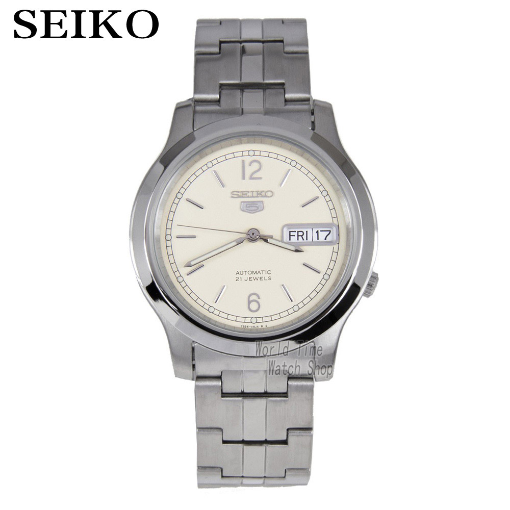 лучшая цена SEIKO Watch No. 5 Automatic Simple business casual automatic mechanical watch SNKE49K1 SNK797K1 SNK799K1 SNK801K1 SNKL48K1