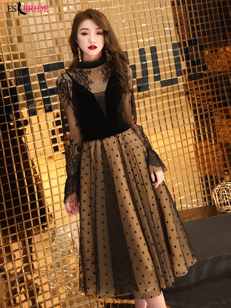 Evening   Gowns for Women Black   Evening     Dress   2019 New Elegant Elegant Banquet   Dress   Special Occasion   Dresses     Dress   Party ES2392