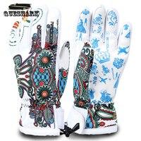 Men Women Snowboard Ski Gloves Winter Motorcycle Riding Cycling Gloves Non Slip Windproof Waterproof Snow Skiing