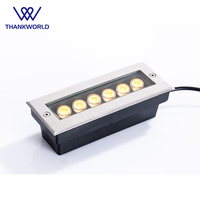 VW Luminaire 6W LED underground lamps IP67 Recessed floor lights for path rectangle inground lighting for garden outood lighting