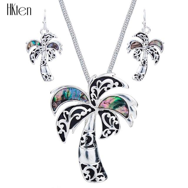 Joyería de Moda de Alta Calidad Multicolor De Coco MS1504257 Collar del Diseño de la Mujer Pendientes de La Boda Pendiente de La Joyería
