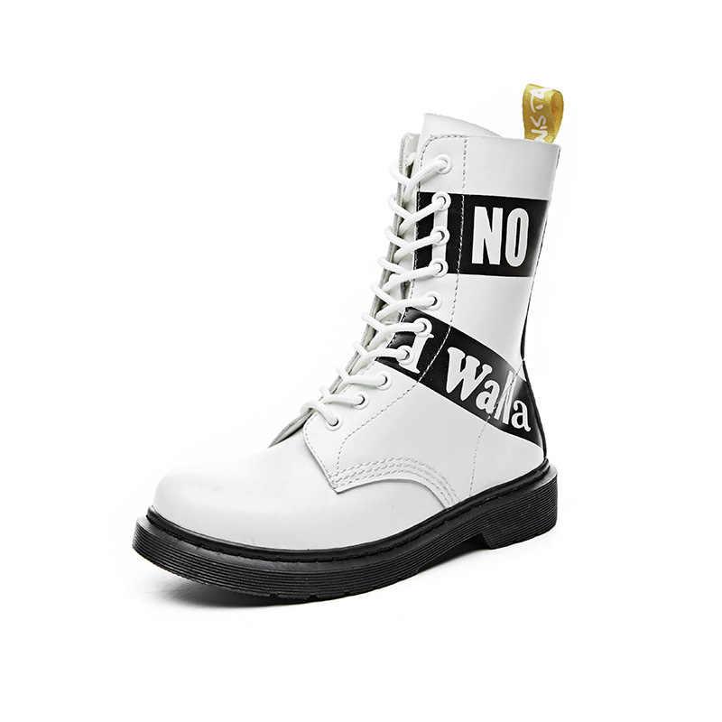 Для женщин натуральная кожа Dr песочно-болотный, ботинки Женская обувь в британском стиле; Цвет белый Джейсон сапоги martins 10 подошва с утолщенной подошвой ботильоны
