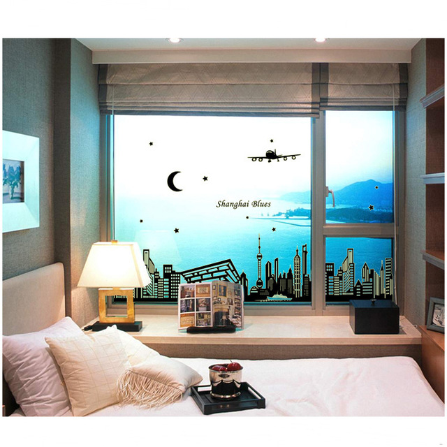 Abq9636 Shanghai Factory Wholesale Night Pearl Wall Sticker