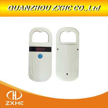 RFID 134.2Khz pet chip scanner identification glass tube label reading Animal handheld card reader FDX-B&EMID For dogs or cats
