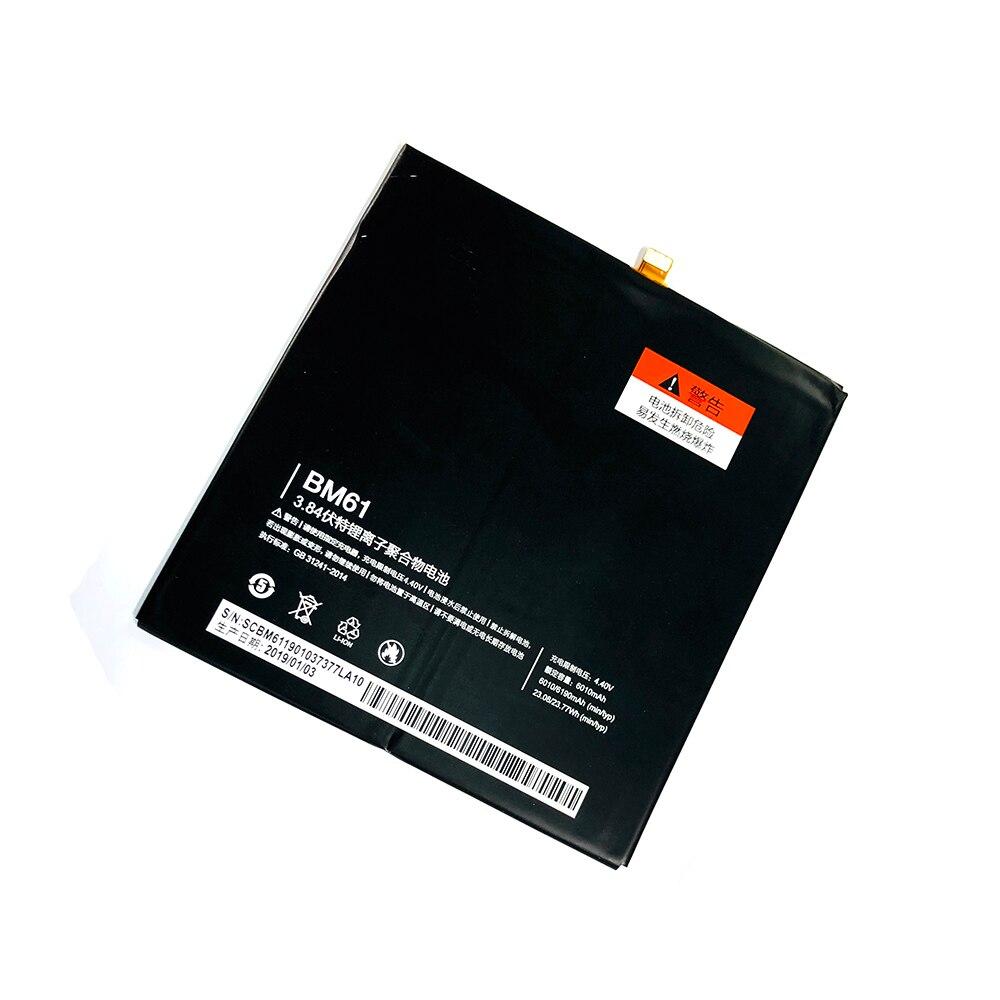 Bateria BM61 Para Xiao mi mi mi mi Pad 2 Pad 2 Pad2 pad2 Tablet Substituição Baterias 6190 mAh Alta capacidade da Bateria