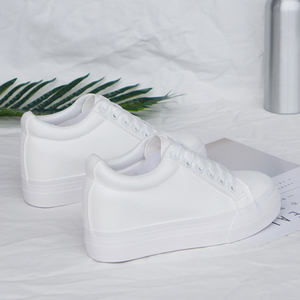 Image 3 - Fashion Platform Sneakers New Autumn Women Shoes For Woman Casual Shoes Wild Platform Heels Female Leisure Women White Sneakers