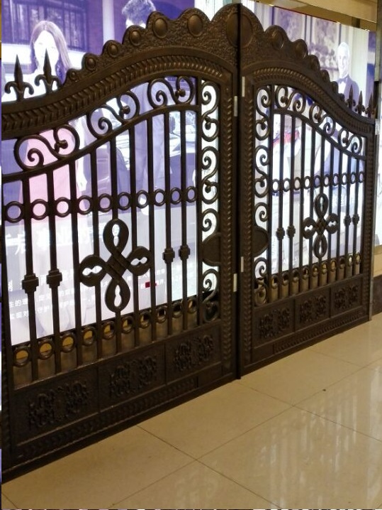 Aluminium Gate Classic design hench-a1