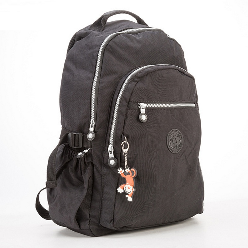 53103d2971d86 Büyük kapasiteli naylon koleji okul çantaları kız erkek rahat laptop sırt  çantası okul çantalarını back pack lightening seyahat çantası sırt çantası  kesesi