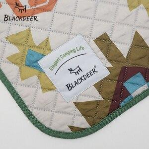Image 4 - Blackdeer Camping Mat Voor Familie Natie Stijl Gedrukt Dikker Waterdichte Picknick Strand Mat Kind Spelen Lente Machine Wasbaar