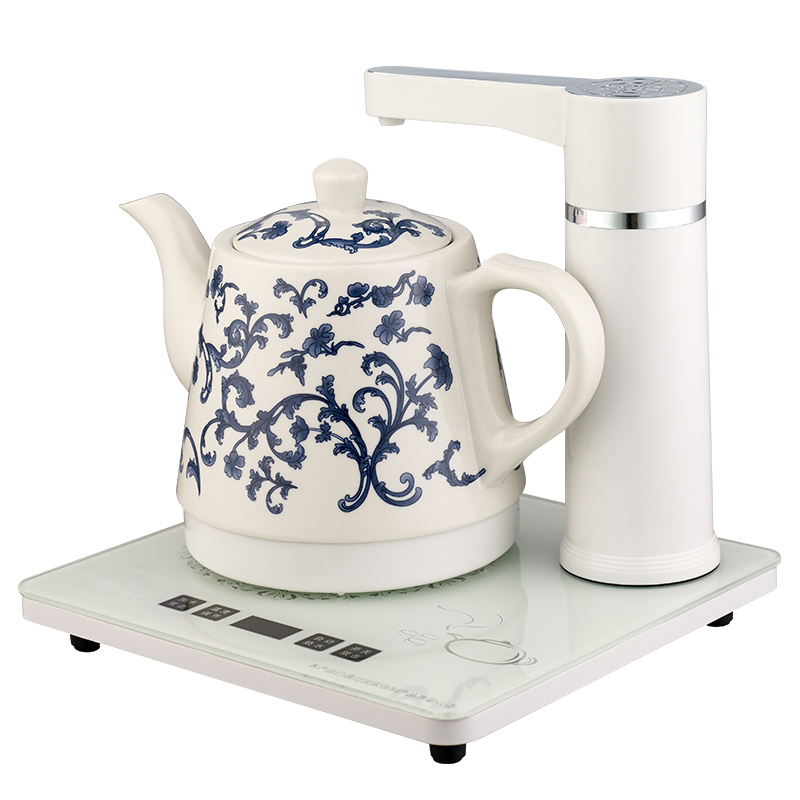 все цены на Electric kettle Automatic upper water electric jingdezhen ceramic raised pot 304 stainless steel tea maker Overheat Protection