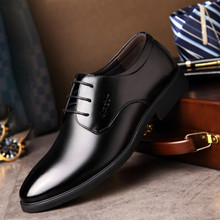 hot deal buy men shoes spring summer formal genuine leather business casual shoes men dress office luxury shoes male breathable yasilaiya