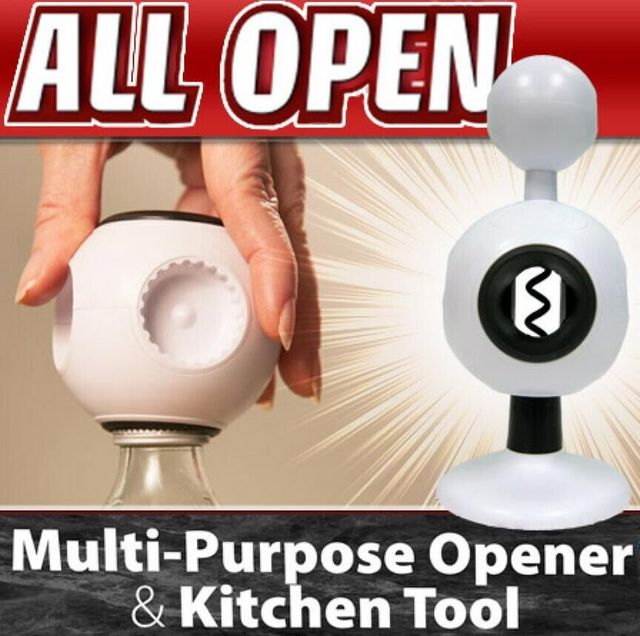 Perfect All Open Perfect Opener Arthritis Jar Bottle Opener & 8-in-1 Home Kitchen Tool Sets